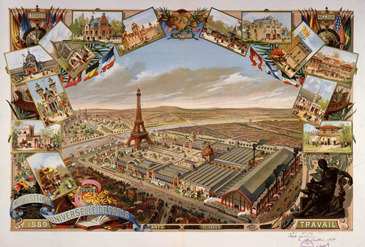 Desc: View of Exposition Universelle (Universal Exhibition), Paris, France, 1889, engraving ¥ Credit: [ The Art Archive / MusŽe Carnavalet Paris / Dagli Orti ] ¥ Ref: AA371361